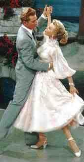 Vera Ellen & Danny Kaye-White Xmas