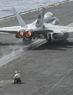 RED SEA (Sept. 3, 2013) An F/A-18C Hornet launches off the flight deck of the aircraft carrier USS Nimitz (CVN 68).