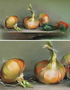 Art Pintura Pastel Ideas For 2019 Soft Pastel Art, Pastel Drawing, Vegetable Painting, Fruits Drawing, Oil Pastel Paintings, Fruit Painting, Beginner Painting, Best Fruits, Still Life Art