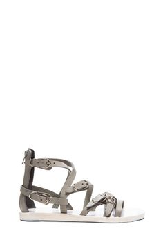 Multistrap Leather Sandals