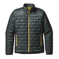 Warm, windproof, water-resistant—the updated Nano Puff® Jacket uses warm, incredibly lightweight and highly compressible 60-g PrimaLoft® Gold Insulation Eco with 55% post-consumer recycled content, wr