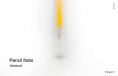 """""""Pencil Note"""" by Chengtao Yi on Inspiration Is."""