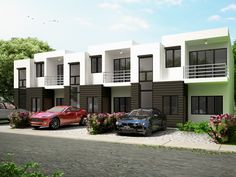 Townhouse Plans Series : PHP-2014010 | Pinoy House Plans
