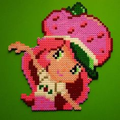 Strawberry Shortcake hama beads by andreasrosen81