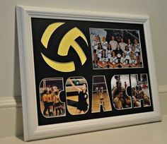 Volleyball Coach 11 x Great senior gift idea. Volleyball Senior Gifts, Volleyball Crafts, Volleyball Party, Volleyball Posters, Senior Night Gifts, Basketball Gifts, Volleyball Pictures, Volleyball Ideas, Sports Gifts