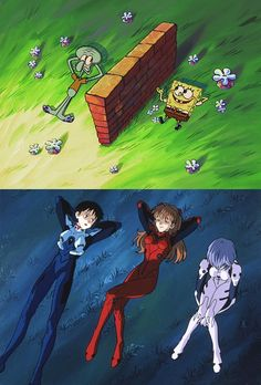 Isnt this great? just the three of us; you me and this brick wall you built between us. Do you like memes? visit my site for many more anime memes Anime Meme, Manga Anime, Anime Art, Neon Genesis Evangelion, Chinese Cartoon, Animes On, Rei Ayanami, Anime Comics, Kawaii Anime