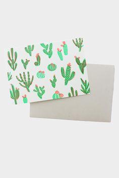Cacti Card