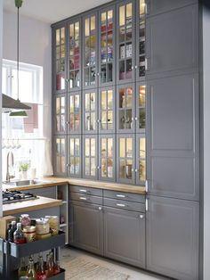 ikea kitchen cabinets like french dresser - Google Search