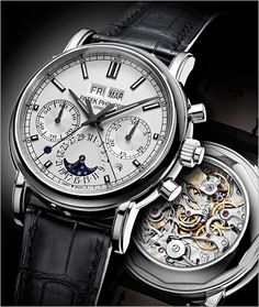 Oh baby.... one day... Patek Philippe - 5204P-001 - Platinum - Men Grand Complications