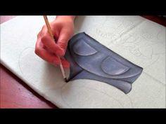 Pintura em tecido: Zebrinha Jurema! - Parte 1 - YouTube