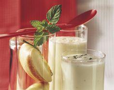 Drink aux pommes et à la mélisse