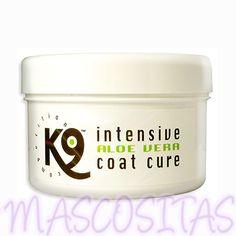 K9 Intensive Aloe Vera Coat Cure gato es apto para cualquier tipo de manto y raza, para cachorros y adultos, para todos los animales domésticos, para el uso a diario, el profesional de peluquería y la competición.