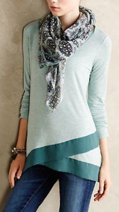pretty mint pullover http://rstyle.me/n/qqdj9r9te