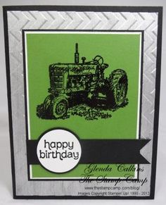 red or green - Shimmered Background Harvest Blessings Bday Cards, Birthday Cards For Men, Handmade Birthday Cards, Male Birthday, Making Greeting Cards, Some Cards, Fathers Day Cards, Fall Cards, Card Sketches