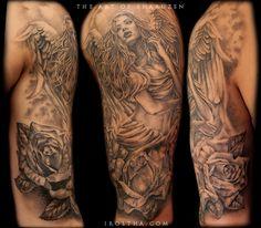 Iroltha » Black and gray tattoos