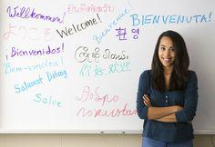 NIU student Jamie Hummel in the Department of Foreign Languages and Literatures. Speak Language, First Language, Foreign Language, Why Learn Spanish, Learning Spanish, Language Development, Self Development, Learn Another Language, Language And Literature