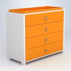 ducduc Cabana 4-Drawer Changer/Dresser #heejung