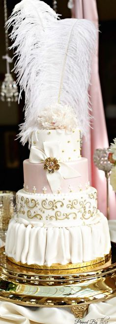 Cake in the style of Marie Antoinette