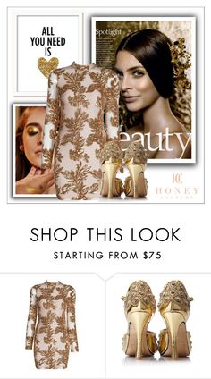 """""""Honey Couture #2"""" by shambala-379 ❤ liked on Polyvore featuring Pat McGrath"""
