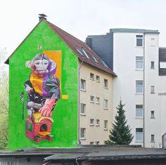 """TELMO MIEL, """"Monkey Gloving"""" Dortmund, Germany, 2015"""
