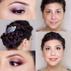Sonia (prueba de maquillaje y peluquería)