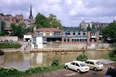 Browns From the Northern Echo, Gilesgate Archive c/o Michael Richardson. Morris Marina, Michael Richardson, St Johns College, Durham, Colorful Pictures, 1970s, Cathedral, Castle, England
