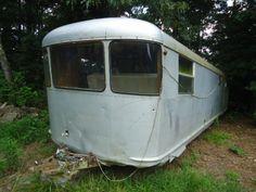 vintage Spartan trailer 36 ft 1951 Imperial Mansion with 2nd bedroom | eBay