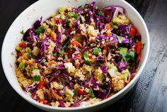 Crunchy Thai Quinoa Recipe