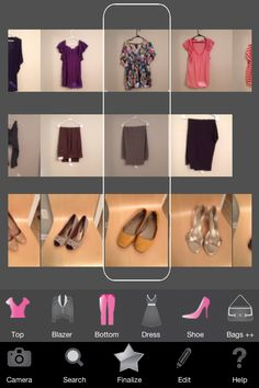 ModiFace Closet app is a must! Helped me organize my wardrobe. Found new looks without having to buy more clothes!