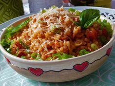 Risotto, Grains, Rice, Menu, Ethnic Recipes, Bulgur, Menu Board Design, Seeds, Laughter