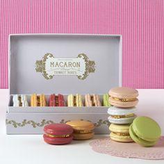 CHAMBRE DE SUCRE — Macaron Limoge Trinket Boxes - light pink & lavender - layla grayce $102