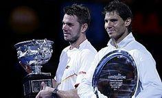 Wawrinka bate Nadal e é campeão do Australian Open