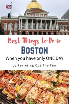 A guide to the best things to do when you have just one day in Boston // #Massachusetts #traveltips Magical Vacations Travel, Vacation Trips, Travel Destinations, Travel Advice, Travel Guide, Greek Gyros, Freedom Trail, Fun Adventure, New England Style