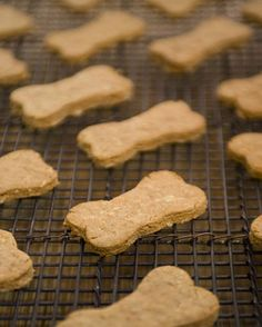 12 Recipes For Homemade Dog Treats...with all the recalls, we will be trying these!