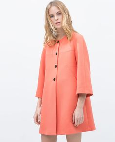 BELL SLEEVE COAT-View all-Coats-WOMAN | ZARA United States