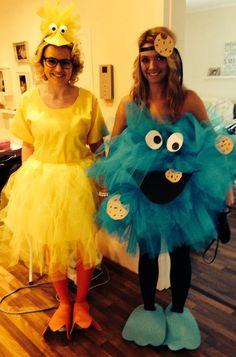 Big Bird and Cookie Monster