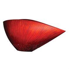 Small Asymmetrical V Vase