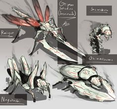 Grimm Studies 2 - (Insectoid) by Nakama-Raibor