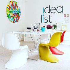 Vitra has manufactured furniture designs by Charles & Ray Eames and George Nelson since 1957. Building on this foundation, Vitra has developed a wide range of furnishings for the office, for the home and for public spaces in collaboration with progressive designers. #yliving