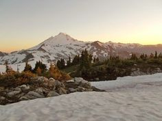 Table Mountain Hike: 3 mi round trip, 560 ft elevation gain, late Aug-mid oct, easy Near Mt. Baker