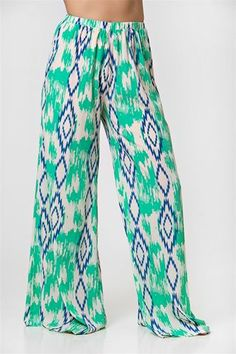ca6bbeed27 Tropical Vacay Pants - Multi These look so comfy!