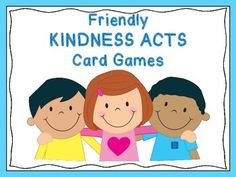 Acts of Kindness Bingo Game