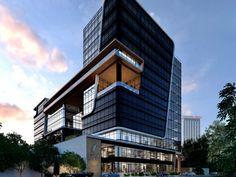 Arquitectura :: Edificio FORUM Zona Viva. Por: Studio Domus. Guatemala.