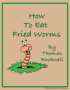 How to eat fried worms worms from pipe cleaners pom poms and this is a custom written literature unit to be used with how to eat fried worms ccuart Images