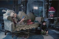 Loved the interior of the house in the movie dark shadows.  I am totally coveting the giant lamps that are in several of the rooms!  I