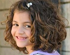 kid girls thick curly hair cuts - Google Search