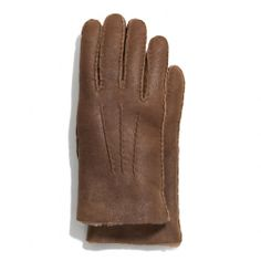 The Shearling Glove from Coach
