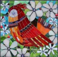 Ruby by Remygem. bird , mosaic