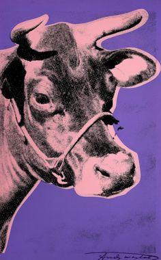 Andy Warhol. Cow, 1976.