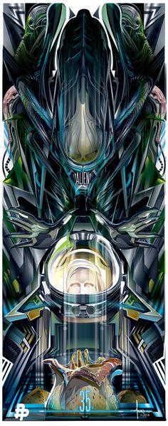"""Orlando Arocena """"Alien 35th Anniversary"""""""